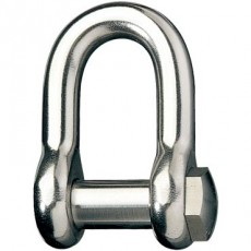 Stainless Steel Rigging Fittings, Standard Dee, Hexagon head - RF1035