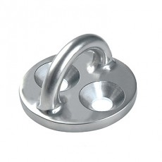 Stainless Steel Rigging Fittings, Pad Eye, Round Base  - RF2429-02