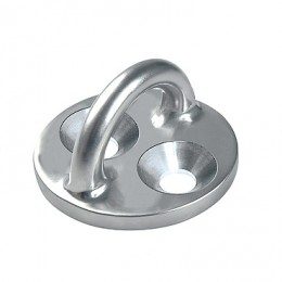 Stainless Steel Rigging Fittings, Pad Eye, Round Base