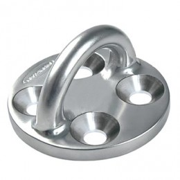 Stainless Steel Pad Eye, Round Base