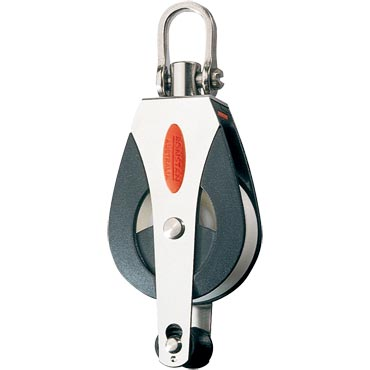Blocks & Pulleys, Single, becket, universal head, Series 40 - RF41110
