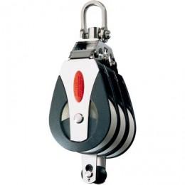 Blocks & Pulleys, Triple, becket, 2-axis head, Series 40 - RF41312