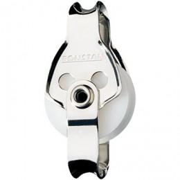 Blocks & Pulleys, Single, becket, loop head, Series 25 - RF572