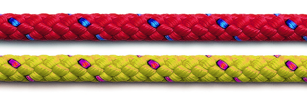 red and yellow albatross ropes
