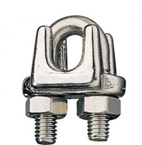 Wire Rope Clips - Wire Rope Cable Clamps - Ronstan Industiral