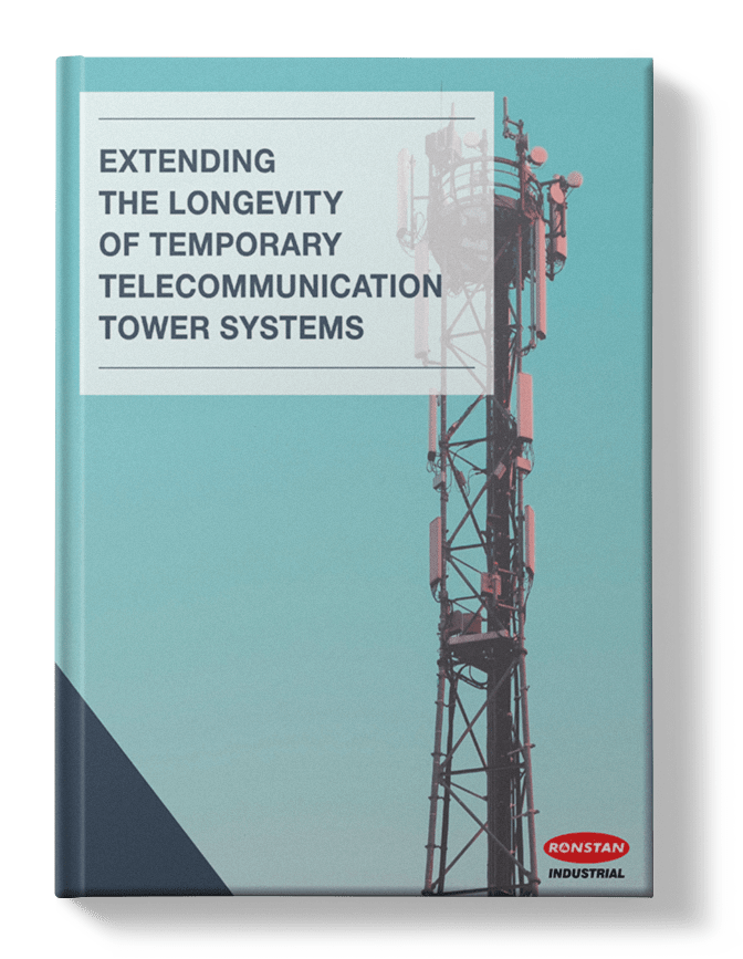Extending the Longevity of Temporary Telecommunication Tower Systems Ronstan Ebook Cover